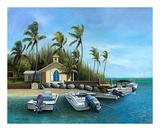 Sunday Morning, Key West Poster by John Ketley