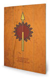 Game of Thrones - Martell Panneau en bois