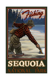 Sequoia National Park Evening Fisherman Pal 1211 Photographic Print by Paul A Lanquist