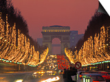 Champs Elysees, Paris, France Prints by Jon Arnold