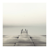 Pier and Seagull Prints by Nicholas Bell