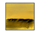Dune Shadows A A 11 Photographic Print by Diane Strain