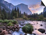 Early Sunrise, Yosemite, California, USA Poster by Tom Norring