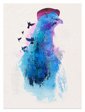 Everybody Flies to London Prints by Robert Farkas