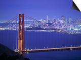 Golden Gate Bridge, San Francisco, California, USA Posters by Walter Bibikow