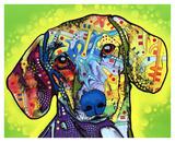 Gravhund Posters af Dean Russo