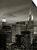 Chrysler Building and Midtown Manhattan Skyline, New York City, USA Art by Jon Arnold