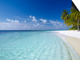 Tropical Island and Beach, Maldives, Indian Ocean, Asia Prints by Sakis Papadopoulos