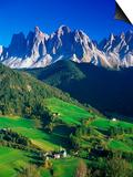 St. Magdalena Kalian Italian Dolomites Prints by Peter Adams