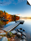 Maine, Baxter State Park, Lake Millinocket, USA Prints by Alan Copson