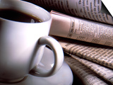 Cup of Coffee by Various Foreign Newspapers Posters by Ellen Kamp