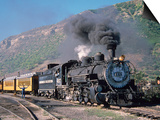 Steam Locomotive, Durango, Colorado Plakater af Charles Benes