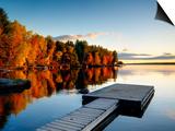 Maine, Baxter State Park, Lake Millinocket, USA Posters by Alan Copson