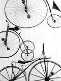 Exposición de bicicletas en el museo de transporte suizo, Lucerna, Suiza Arte por Walter Bibikow