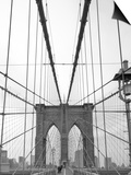 Manhattan and Brooklyn Bridge, New York City, USA Prints by Alan Copson