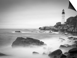 Maine, Portland, Portland Head Lighthouse, USA Posters by Alan Copson
