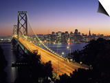 Oakland Bay Bridge, San Francisco, California, USA Prints by Walter Bibikow