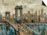 New York View Art by Silvia Vassileva