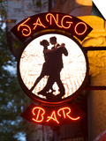 Tango Bar Sign, Buenos Aires, Argentina Posters by Demetrio Carrasco