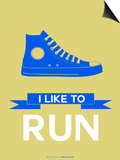 I Like to Run 2 Print by  NaxArt