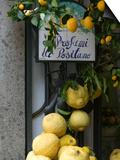 Lemons, Positano, Amalfi Coast, Campania, Italy Posters by Walter Bibikow