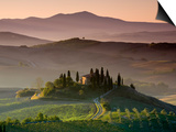 Farmhouse, Val D' Orcia, Tuscany, Italy Posters by Doug Pearson