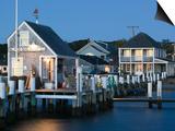 Vineyard Haven Harbour, Martha's Vineyard, Massachusetts, USA Poster by Walter Bibikow