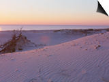 Sunset on Beach at Amelia Island, FL Print by Kent Dufault