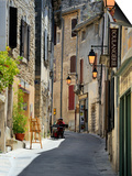 Traditional Old Stone Houses, Les Plus Beaux Villages De France, Menerbes, Provence, France, Europe Prints by Peter Richardson