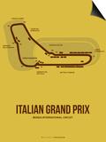 Italian Grand Prix 1 Prints by  NaxArt