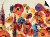Joyful Garden Posters by Silvia Vassileva