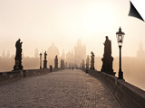 Europe, Czech Republic, Central Bohemia Region, Prague, Charles Bridge Posters by Francesco Iacobelli