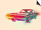 1967 Dodge Charger 1 Print by  NaxArt
