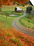 Sleepy Hollow Farm, Woodstock, VT Prints by Charles Benes