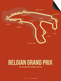 Belgian Grand Prix 2 Prints by  NaxArt