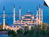 Blue Mosque, Sultanahmet, Bosphorus, Istanbul, Turkey Prints by Gavin Hellier