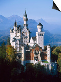 Neuschwanstein Castle, Fussen Bavaria, South Germany Prints by Nigel Francis