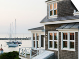 Harbour, Menemsha, Martha's Vineyard, Massachusetts, USA Prints by Walter Bibikow