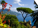 Rufolo View, Ravello, Amalfi Coast, UNESCO World Heritage Site, Campania, Italy, Europe Posters by Charles Bowman