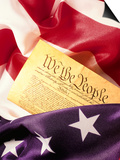 US Flag, Constitution Poster by Terry Why