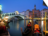 Rialto Bridge, Grand Canal, Venice, Italy Prints by Demetrio Carrasco