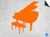 Orange Piano Prints by  NaxArt
