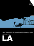 Los Angeles Poster Prints by  NaxArt