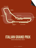 Italian Grand Prix 3 Prints by  NaxArt