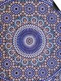Zellij (Geometric Mosaic Tilework) Adorn Walls, Morocco Prints by John & Lisa Merrill