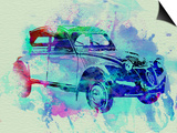 Citroen 2Cv Prints by  NaxArt