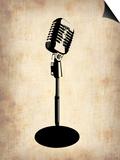 Vintage Microphone Prints by  NaxArt