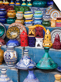 Pottery, Essaouira, Morocco Posters by William Sutton