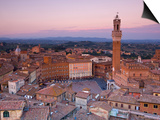 Palazzo Publico and Piazza Del Campo, Siena, Tuscany, Italy Prints by Doug Pearson