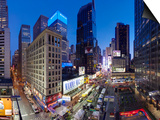 Broadway Looking Towards Times Square, Manhattan, New York City, New York, United States of America Prints by Gavin Hellier